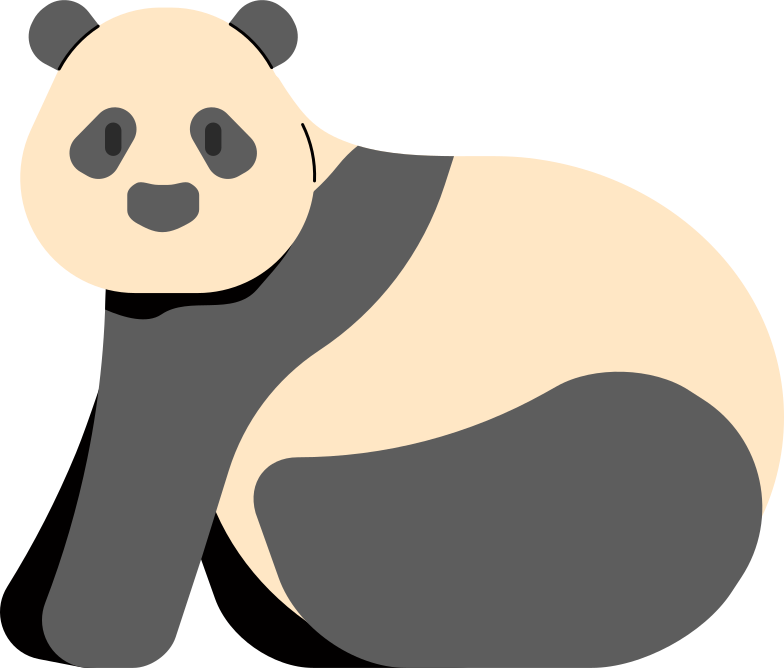 style panda Vector images in PNG and SVG | Icons8 Illustrations