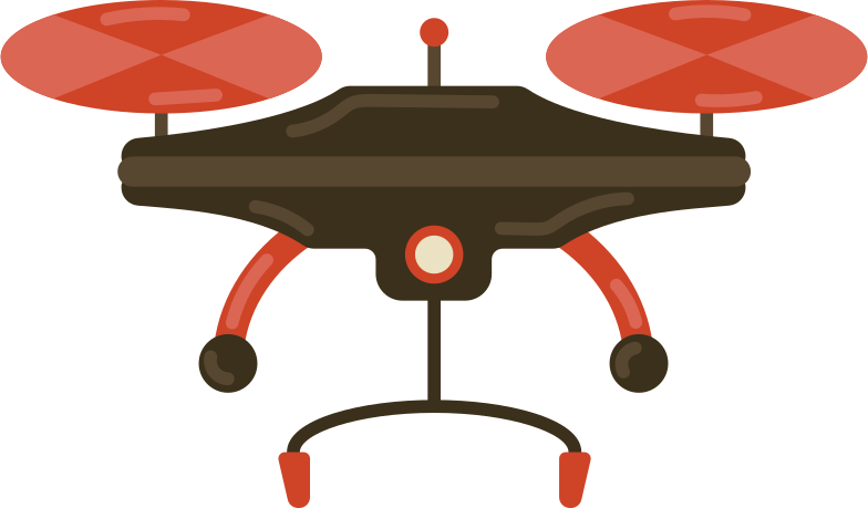 drone Clipart illustration in PNG, SVG