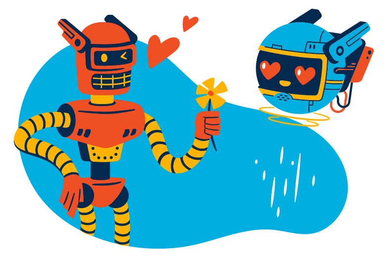 style Robolove Vector images in PNG and SVG | Icons8 Illustrations