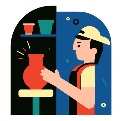 style Pottery images in PNG and SVG | Icons8 Illustrations