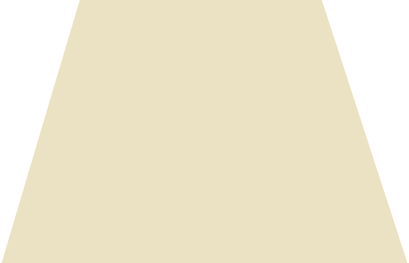 trapeze beige Clipart illustration in PNG, SVG
