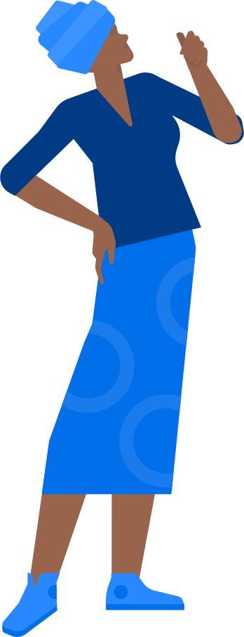woman in turban Clipart illustration in PNG, SVG