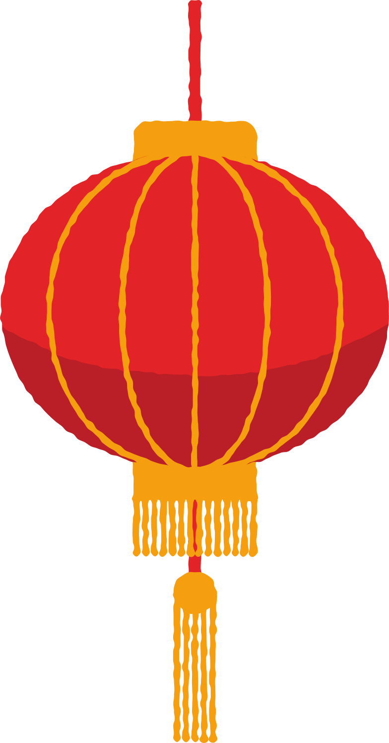 lantern with brush Clipart illustration in PNG, SVG