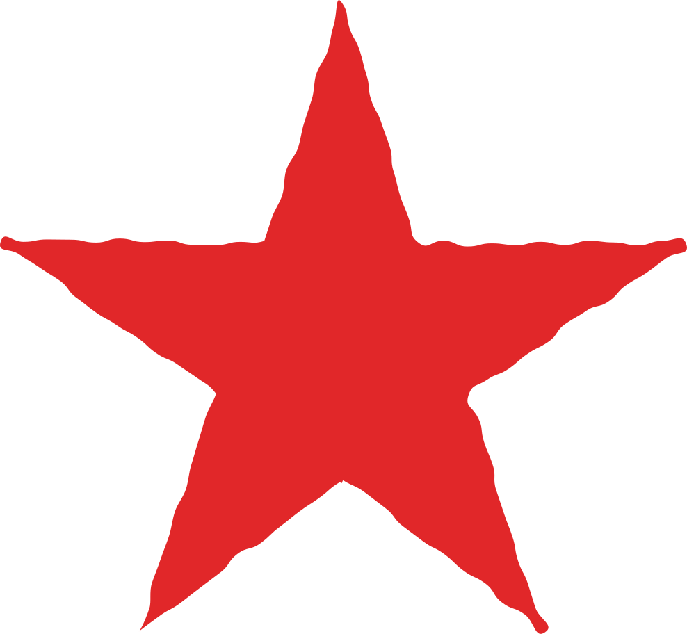 star red Clipart illustration in PNG, SVG