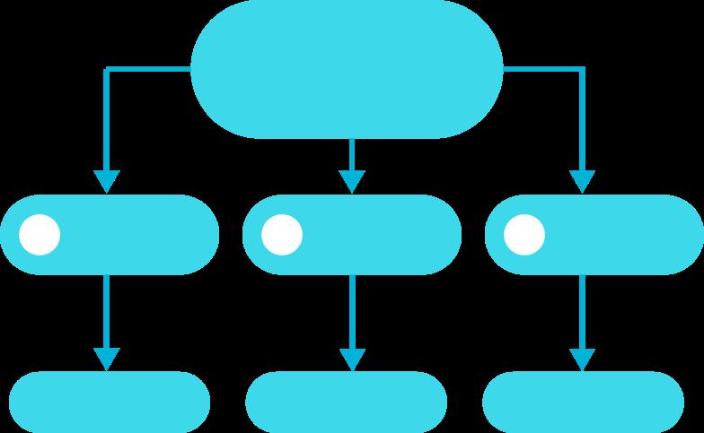 Иллюстрация E blue gls процесс семь в стиле  в PNG и SVG | Icons8 Иллюстрации