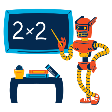 style Robot teacher images in PNG and SVG | Icons8 Illustrations