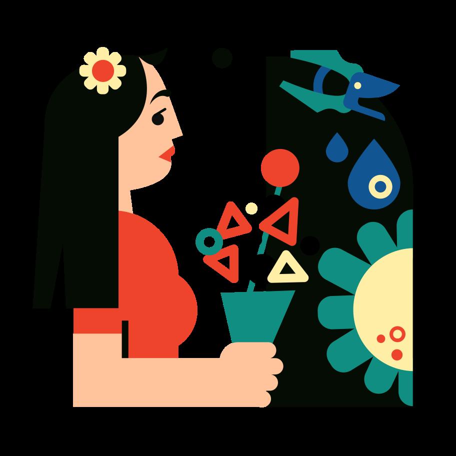 Floristics Clipart illustration in PNG, SVG