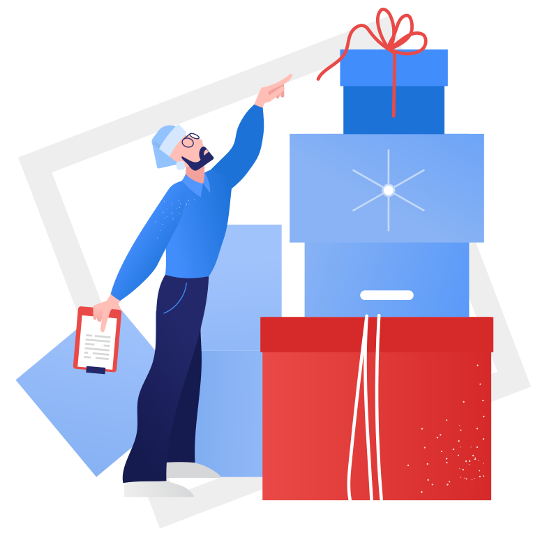 style Gift warehouse Vector images in PNG and SVG | Icons8 Illustrations