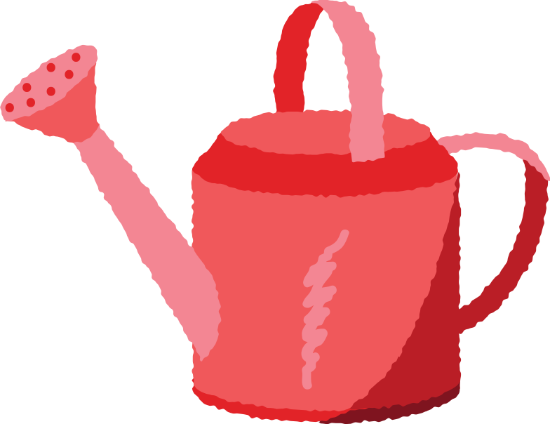 watering can Clipart illustration in PNG, SVG