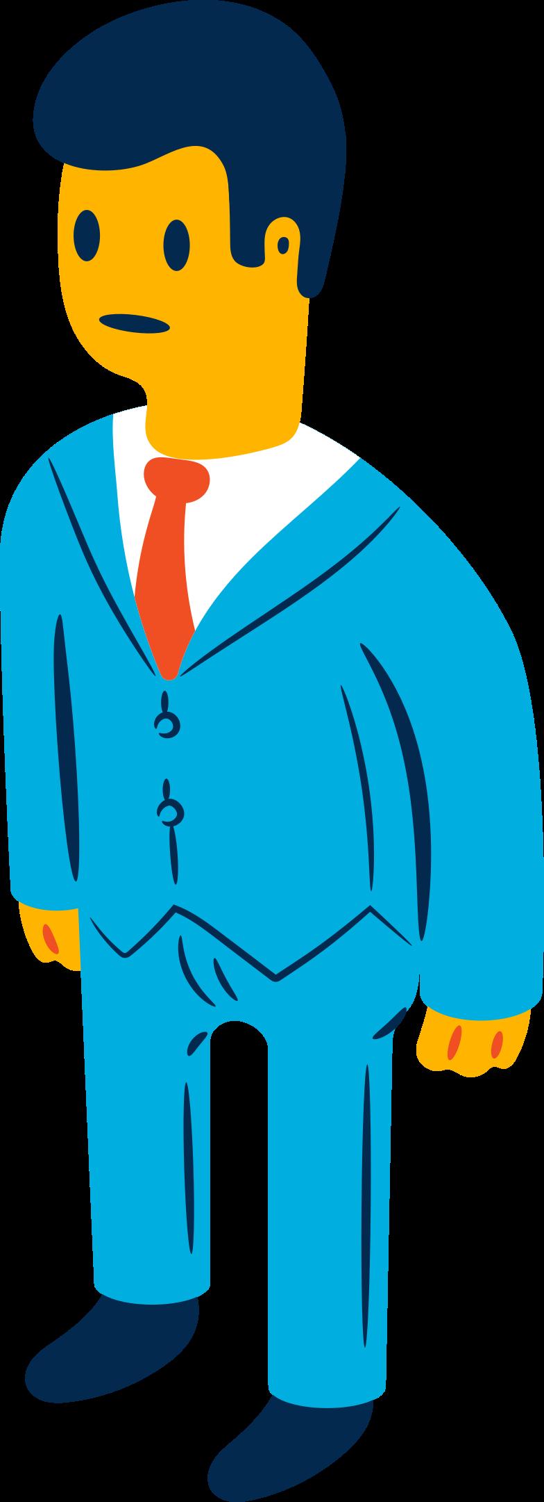 businessman Clipart-Grafik als PNG, SVG