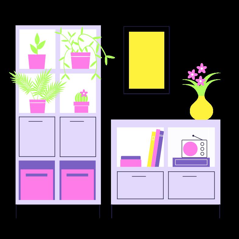 Interior Clipart illustration in PNG, SVG