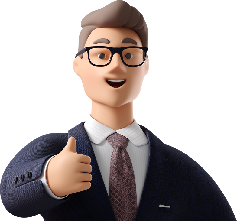 thumb up man  close-up Clipart illustration in PNG, SVG