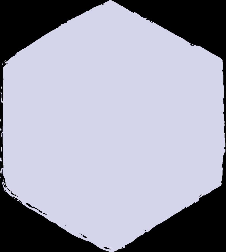 hexadon-purple Clipart illustration in PNG, SVG