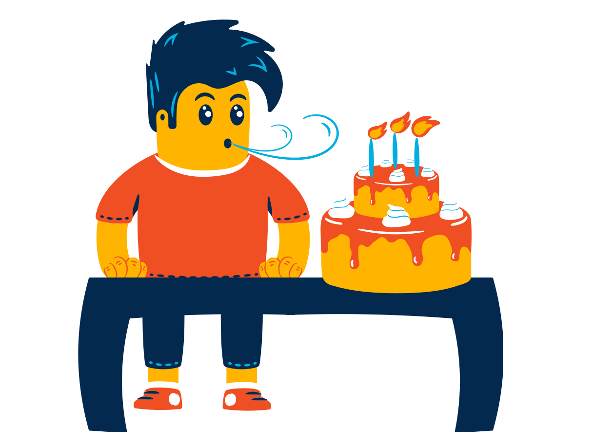 style Boy celebrates his birthday Vector images in PNG and SVG   Icons8 Illustrations