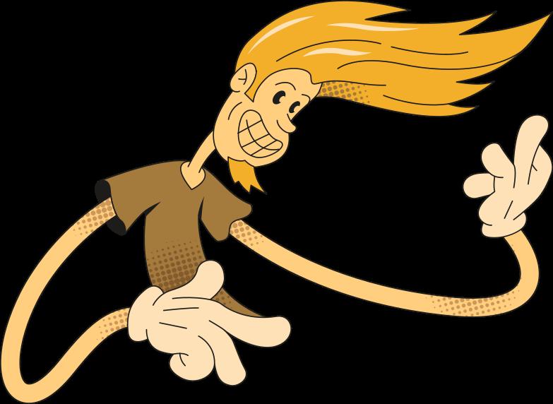 rock man Clipart illustration in PNG, SVG