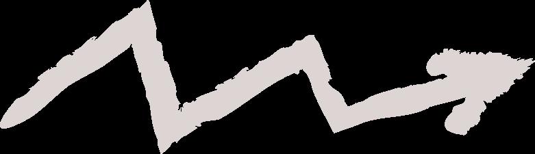 tk arrow zigzag Clipart illustration in PNG, SVG