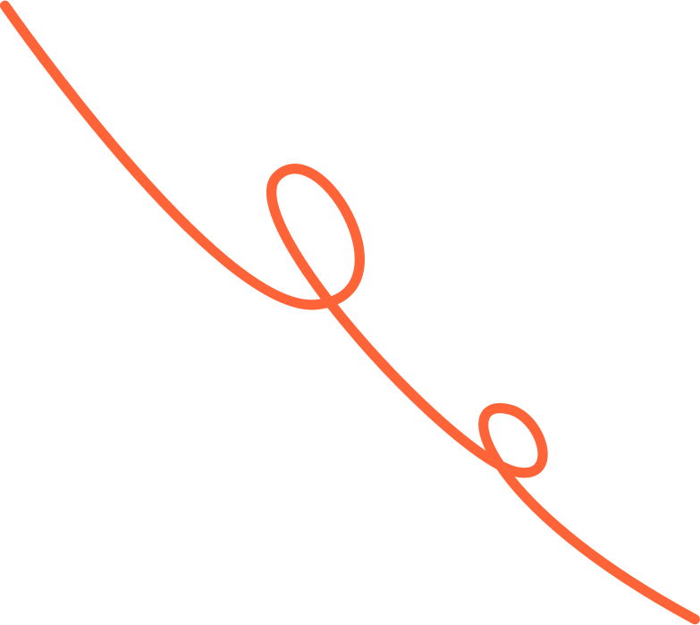 curly line Clipart illustration in PNG, SVG