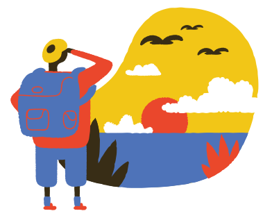 style Backpacker images in PNG and SVG | Icons8 Illustrations