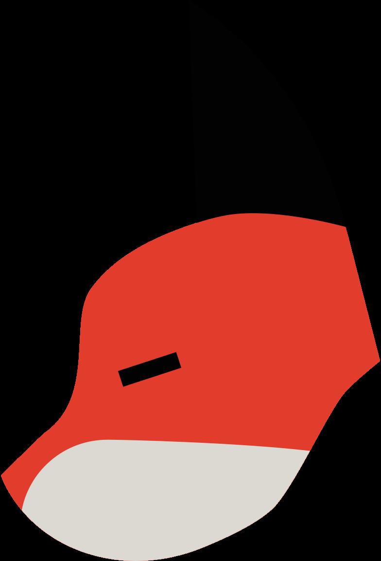 fox mask Clipart illustration in PNG, SVG