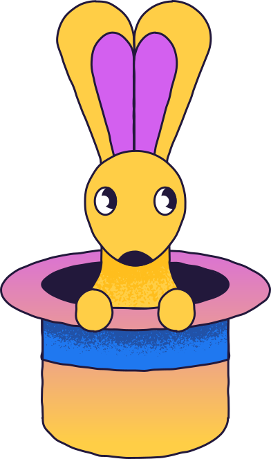 style magic rabbit images in PNG and SVG   Icons8 Illustrations