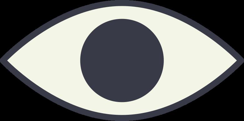 Auge Clipart-Grafik als PNG, SVG