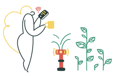 style Smart watering system images in PNG and SVG | Icons8 Illustrations