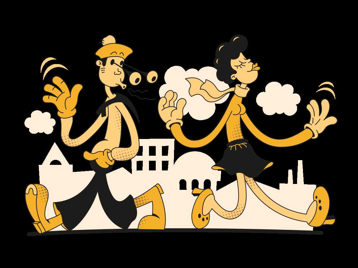 Relationships Clipart illustration in PNG, SVG