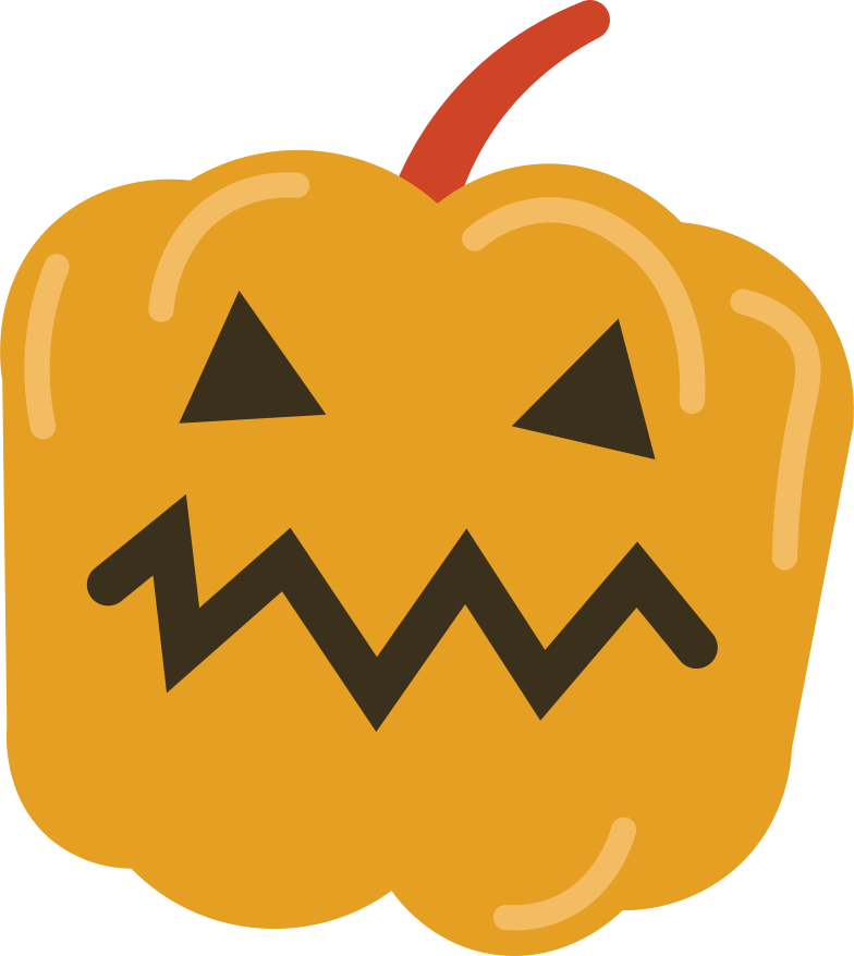 pumpkin head Clipart illustration in PNG, SVG