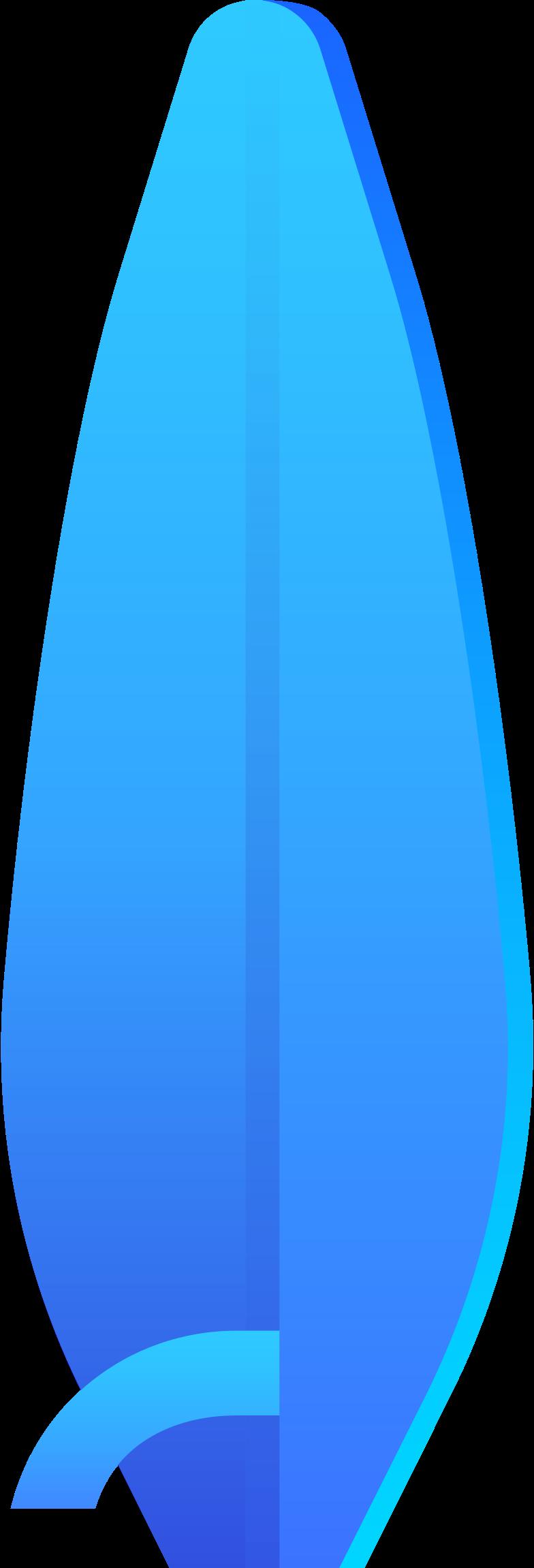 surfboard Clipart illustration in PNG, SVG