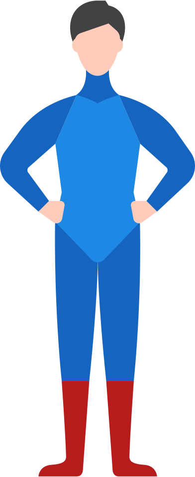 style man superhero images in PNG and SVG | Icons8 Illustrations