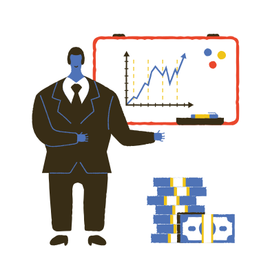 style Business presentation images in PNG and SVG | Icons8 Illustrations