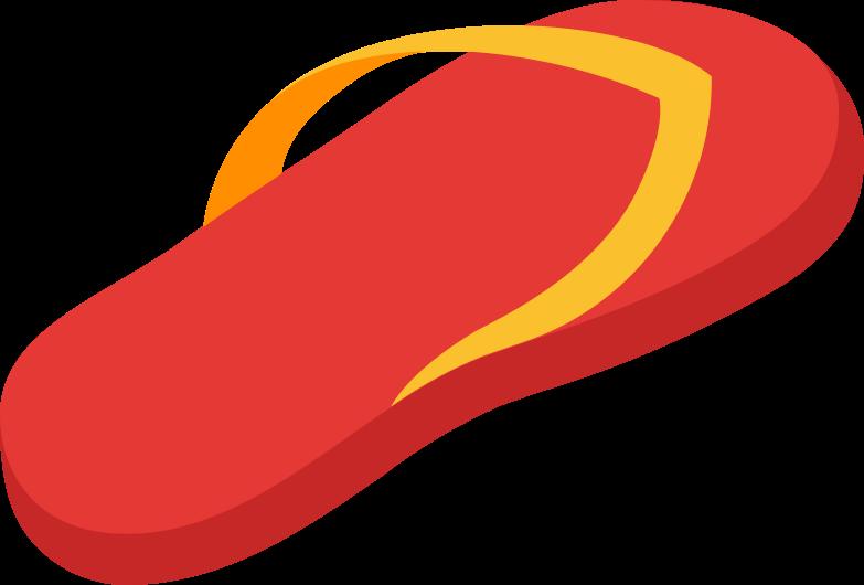 flip-flops left Clipart illustration in PNG, SVG
