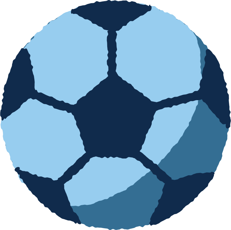 football ball Clipart illustration in PNG, SVG