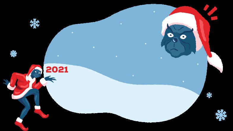 Grinch 2021 Clipart illustration in PNG, SVG