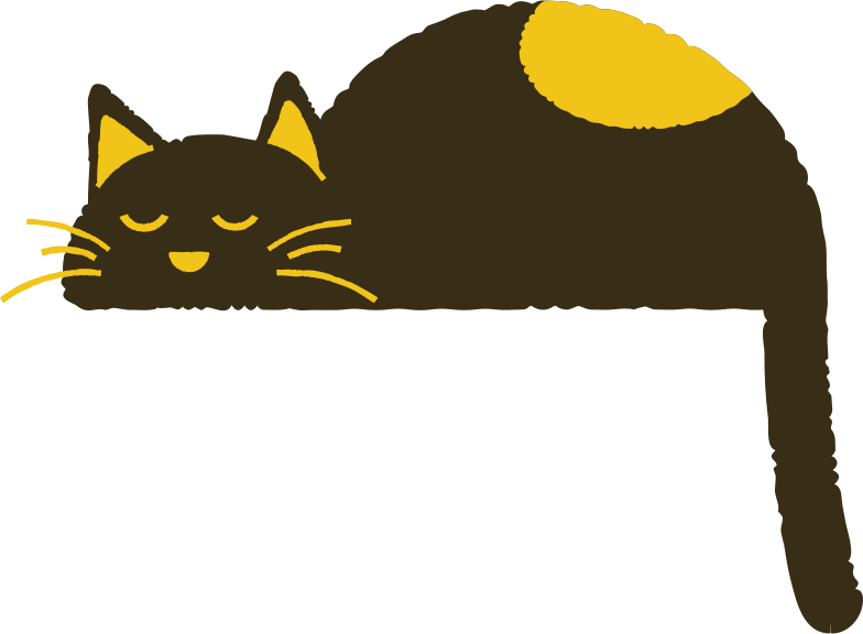 katze schläft Clipart-Grafik als PNG, SVG