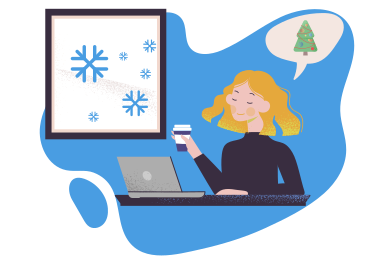 style Christmas anticipation images in PNG and SVG | Icons8 Illustrations