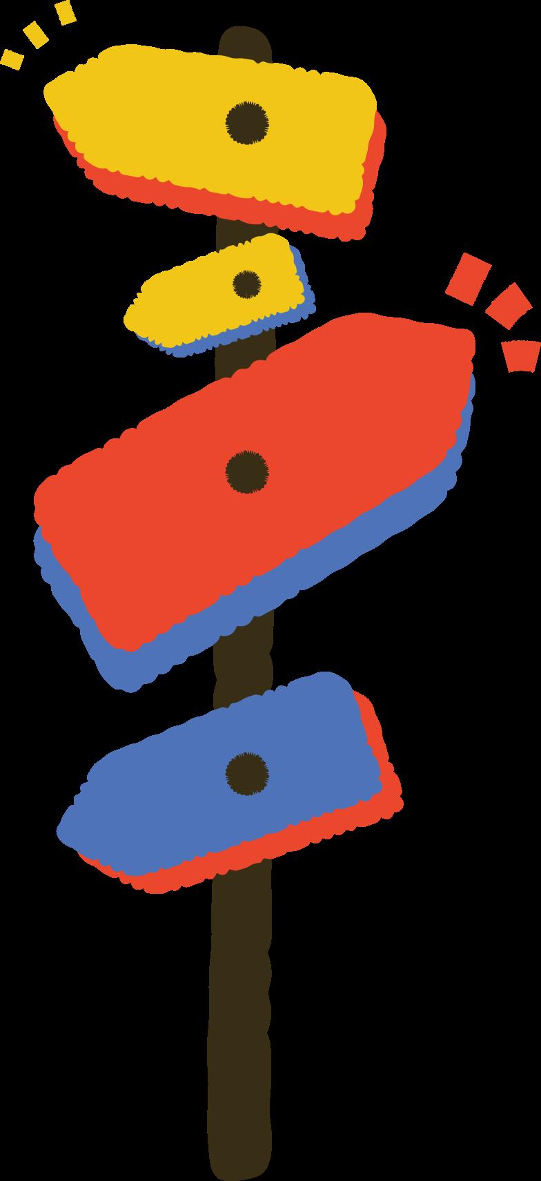 signpost Clipart illustration in PNG, SVG