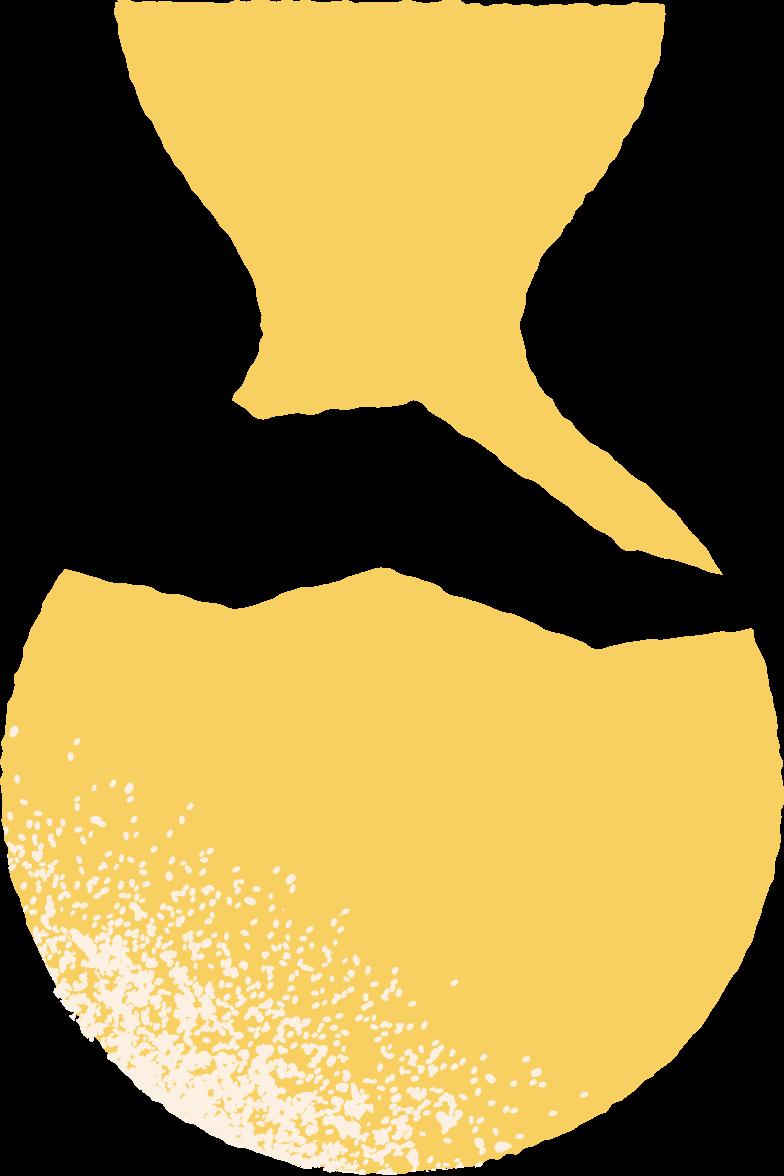 broken vase Clipart illustration in PNG, SVG