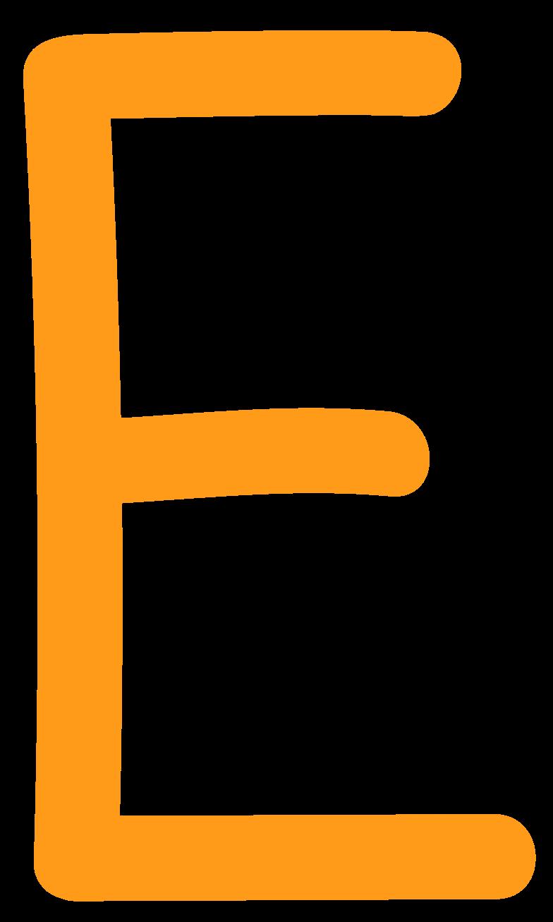 Иллюстрация е желтый в стиле  в PNG и SVG | Icons8 Иллюстрации