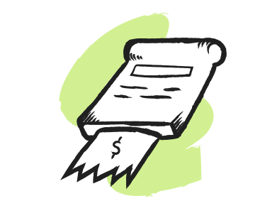 style Receipt images in PNG and SVG | Icons8 Illustrations