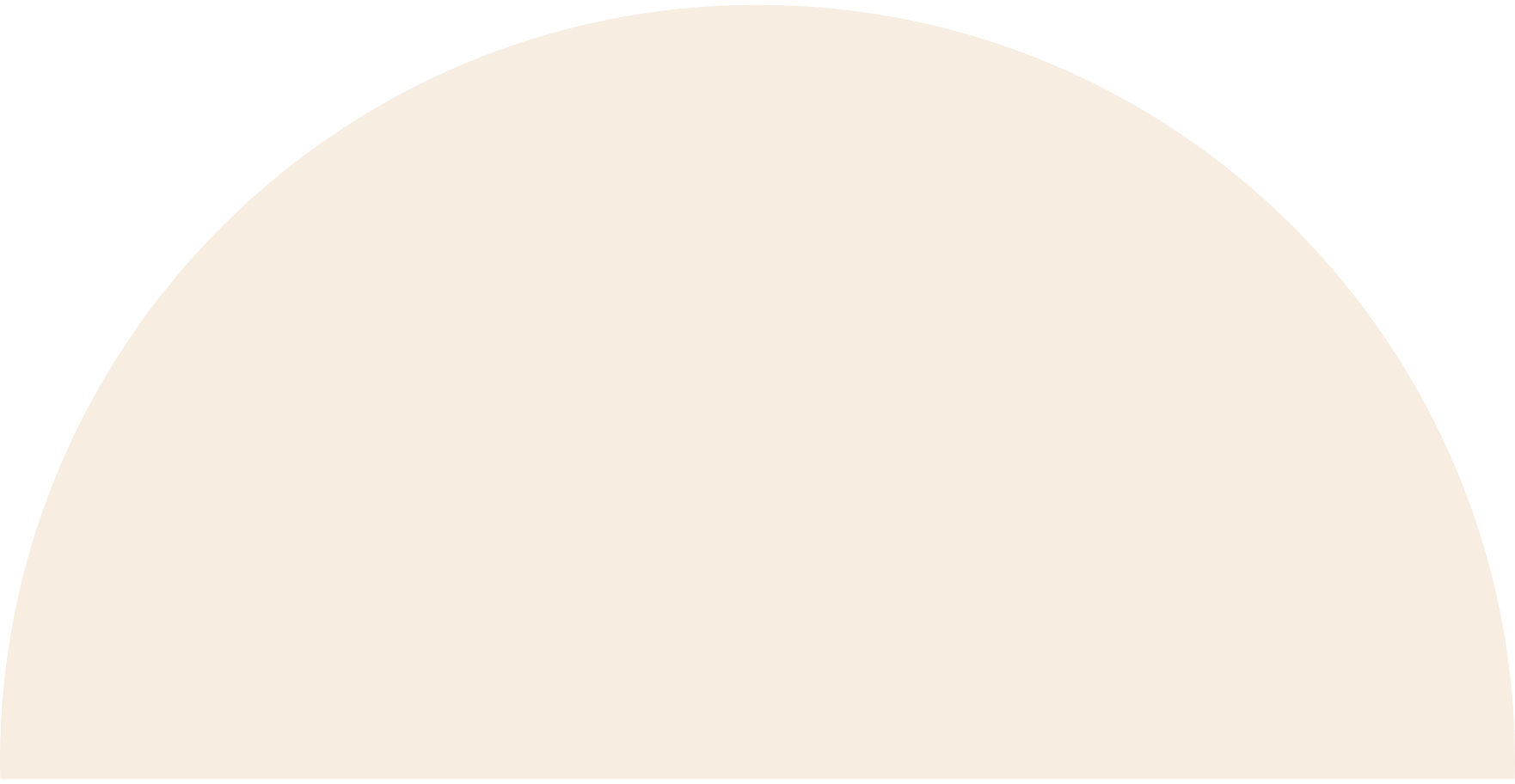 semicircle-beige Clipart illustration in PNG, SVG