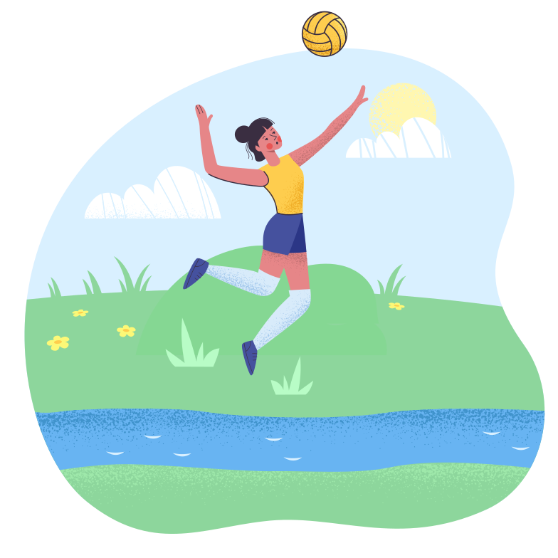 style Playing with the ball Vector images in PNG and SVG | Icons8 Illustrations