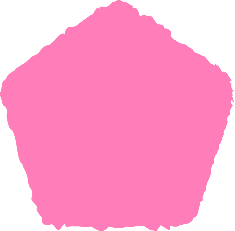 style pentagon pink Vector images in PNG and SVG | Icons8 Illustrations
