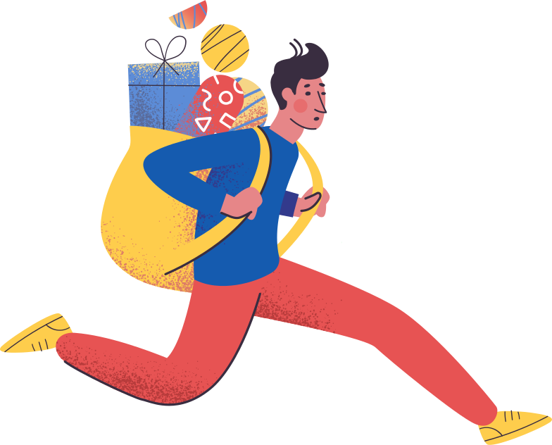 man-with-bag Clipart illustration in PNG, SVG