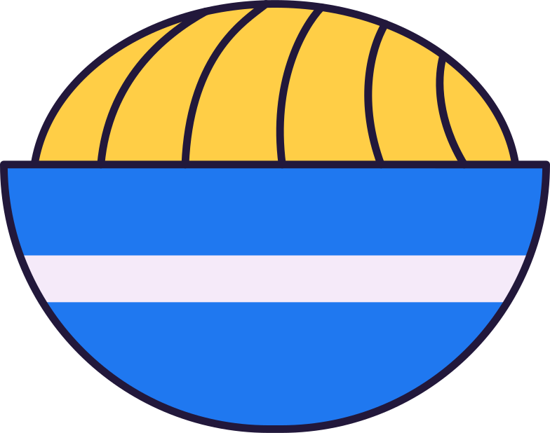 noodle bowl Clipart illustration in PNG, SVG