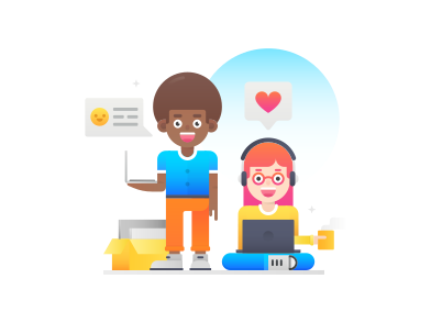 style Co-workers images in PNG and SVG | Icons8 Illustrations