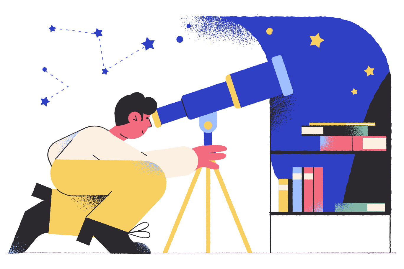 style Astronomer images in PNG and SVG | Icons8 Illustrations
