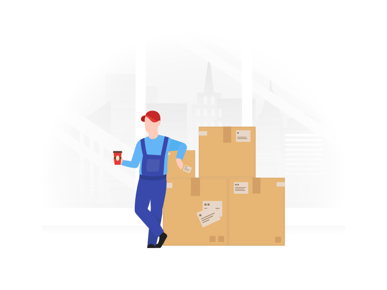 style Storage worker Vector images in PNG and SVG | Icons8 Illustrations