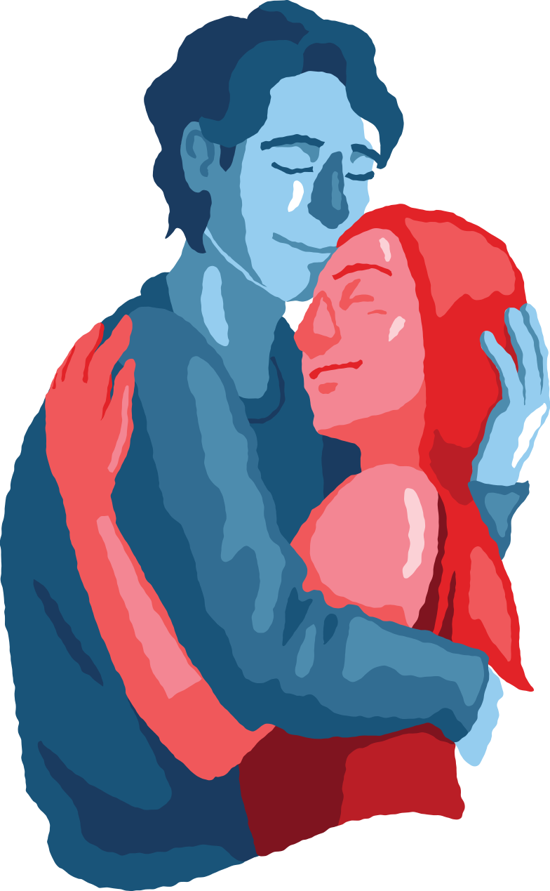 style man and woman couple hugging Vector images in PNG and SVG | Icons8 Illustrations