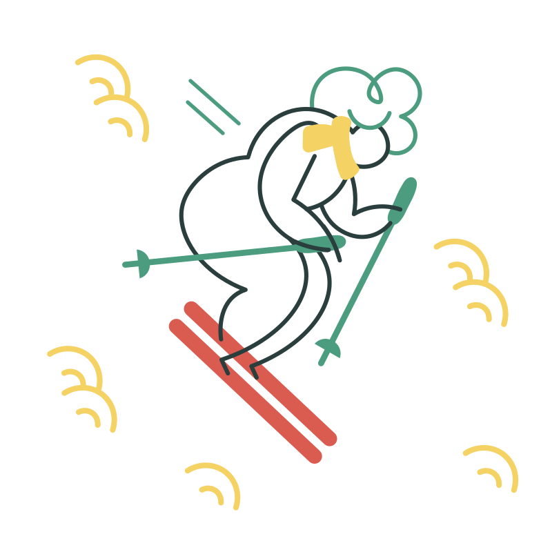 style Ski Vector images in PNG and SVG | Icons8 Illustrations